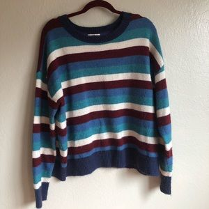 BP Colorful Striped Sweater